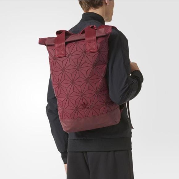brand new fe233 7502a Adidas Originals x Issey Miyake 3D Roll-Top Bag